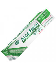 "ALOE FRESH ""MENTA CRYSTAL"" zubna gel pasta"