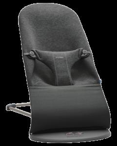 BabyBjörn ležaljka 3D Jersey - Charcoal Grey