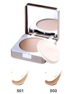 BIONIKE DEFENCE COLOR SECOND SKIN Kompaktni kremasti puder, SPF 20 (Cream compact foundation)