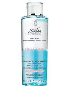 BIONIKE DEFENCE Two-phase eye make-up remover - dvofazno sredstvo za uklanjanje teške i vodootporne šminke, 150 ml