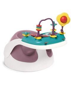 Mamas & Papas Baby Snug s didaktičkim igračkama - Dusky Rose