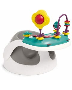 Mamas & Papas Baby Snug s didaktičkim igračkama - Soft Grey