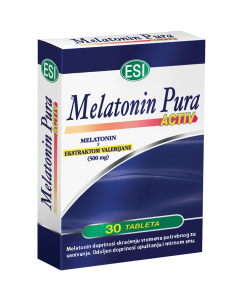 Melatonin PURA ACTIV s valerijanom tablete