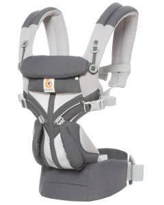 Ergobaby Cool Air Omni 360 nosiljka - Carbon siva
