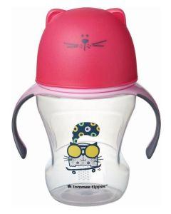 """Tommee Tippee® """"SOFT SIPPEE"""" šalica s ručkama za pridržavanje s poklopcem, 230 ml"""