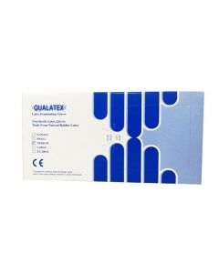 Rukavice latex s puderom, vel. M, pakiranje 100/1, Qualatex