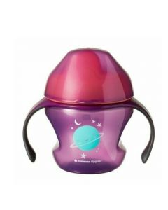 "Tommee Tippee® Explora ""First cup"" šalica s mekim anatomskim usnikom i ručkama, 150 ml"