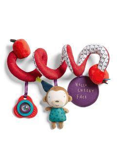 Mamas & Papas Toys - Spiralna igračka za kolica Cheeky Faces