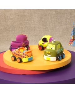 B. Toys - B. Wheeee-ls!